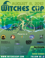 WITCHES CUP bIKE rACE POSTER  2011